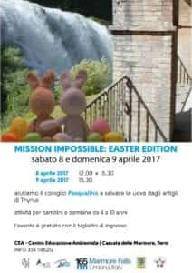 Mission Impossible Easter Edition 8-9 aprile 2017 CEA